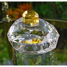 Pear Shaped Crystal Trinket Box