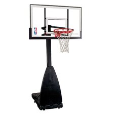 "54"" Portable Glass Basketball System"