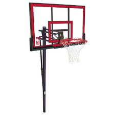 "48"" In-Ground Polycarbonate Basketball System"