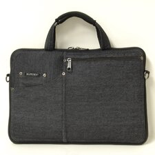 Denim Slim Laptop Briefcase