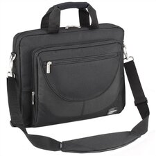 PASSAGE Series Black Top Load Single Laptop Briefcase