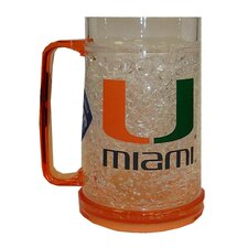 NCAA 16 oz. Crystal Freezer Mug
