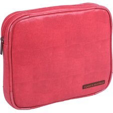 "<strong>Clark & Mayfield</strong> Carmen 9"" - 11"" iPad/Netbook Sleeve in Coral Red"