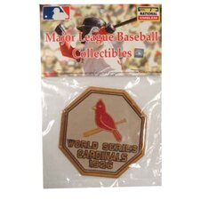 MLB World Series Logo Patch