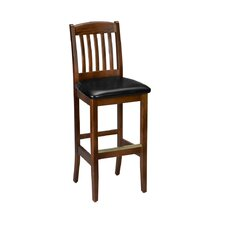 "Fine Beechwood 30""' Bar Stool"