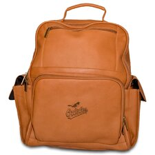 <strong>Pangea Brands</strong> MLB Leather Computer Backpack