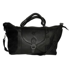 "<strong>Pangea Brands</strong> NBA 25"" Leather Top Zip Travel Duffel"