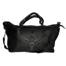 "NHL 25"" Leather Top Zip Travel Duffel"