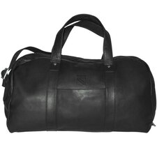 "<strong>Pangea Brands</strong> NHL 18"" Leather Corey Travel Duffel"
