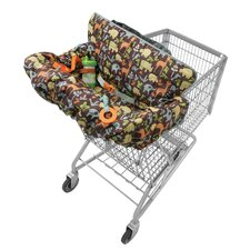 Compact 2-in-1 Baby Shopping Cart Cover