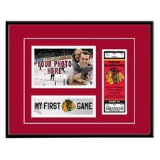 NHL My First-Game Ticket Frame