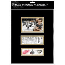 NHL 2009 Stanley Cup Frame-It-Yourself Ticket Frame - Pittsburgh Penguins