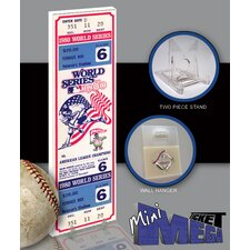 MLB 1980 World Series Phillies Game 6 Mini Mega Ticket