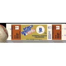 MLB 1985 World Series Royals Mini Mega Ticket