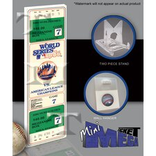 MLB 1986 World Series Mini Mega Ticket - New York Mets