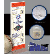 MLB 1992 World Series Mini Mega Tickets - Toronto Blue Jays