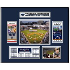 MLB 2008 All-Star Game  Ticket Frame - New York Yankees
