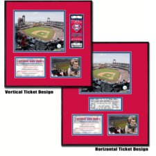 MLB Citizens Bank Park - Ballpark Ticket Frame - Philadelphia Phillies