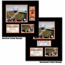 MLB AT&T Park - Ballpark Ticket Frame - San Francisco Giants