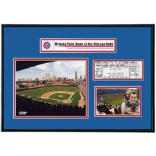 MLB That's My Ticket Wrigley Field Ticket Frame (Vertical) - Chicago Cubs