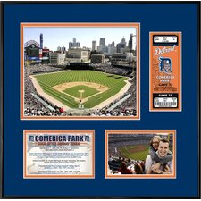 <strong>That's My Ticket</strong> MLB That's My Ticket Comerica Park Ticket Frame (Horizontal) - Detroit Tigers