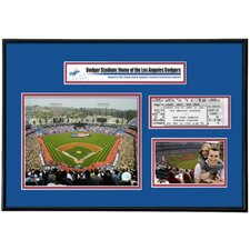MLB That's My Ticket Dodger Stadium Ticket Frame (Vertical) - LA Dodgers