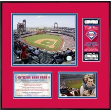 MLB Citizens Bank Park Ticket Frame - Philadelphia Phillies (Vertical)