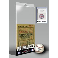 1932 MLB World Series New York Yankees Mini Mega Ticket