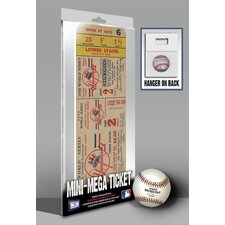 1949 MLB World Series New York Yankees Mini Mega Tickets