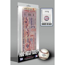 1958 MLB World Series New York Yankees Mini Mega Ticket