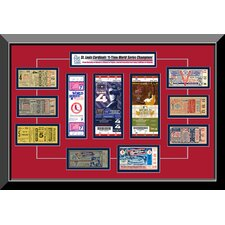 11 Time World Series Champions Replica Tickets to History Frame - St Louis Cardinals