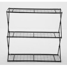 "Exy X-Up 32"" Three Shelf Shelving Unit"