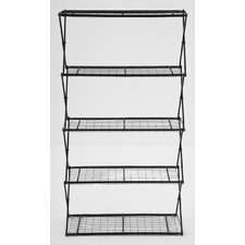 "Exy X-Up 64"" Five Shelf Shelving Unit"