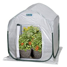 PlantHouse 2 Ft. W x 2 Ft. D Polyethylene Mini Greenhouse