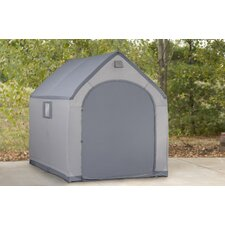 StorageHouse 6ft. W x 7.5ft. D Plastic Poratable Shed