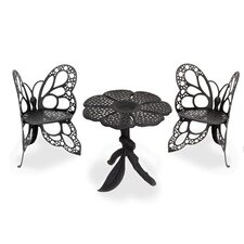 <strong>Flowerhouse</strong> Butterfly 3 Piece Bistro Set