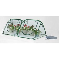 StarterHouse 8' W x 4' D Clear PVC Mini Greenhouse