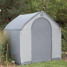 StorageHouse 6' W x 6' D Plastic Poratable Shed