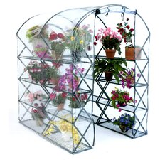 X-Up 4.5 Ft. W x 6 Ft. D Polycarbonate Greenhouse