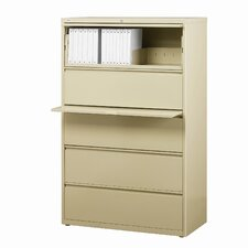 "36"" Wide 5 Drawer Lateral File Cabinet"
