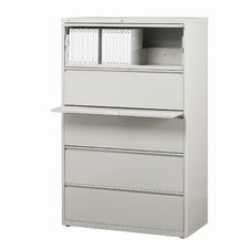 "<strong>CommClad</strong> 36"" Wide 5 Drawer Lateral File Cabinet"