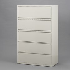 "<strong>CommClad</strong> 30"" Wide 5 Drawer Lateral File Cabinet"