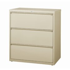 "42"" Wide 3 Drawer Lateral File Cabinet"