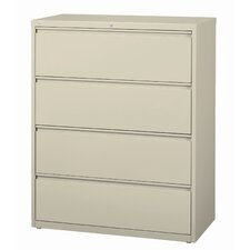 "<strong>CommClad</strong> 42"" Wide 4 Drawer HL10000-Series Lateral File Cabinet"