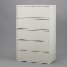 "<strong>CommClad</strong> 42"" Wide 5 Drawer Lateral File Cabinet"