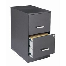 "<strong>CommClad</strong> Home Office  22"" Deep 2 Drawer Vertical Smart File Cabinet"