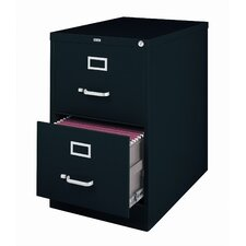 "26.5"" Deep Commercial 2 Drawer Legal Size High Side Vertical File Cabinet"