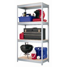 "<strong>CommClad</strong> 1000 Series 60"" H Four Shelf Shelving Unit"