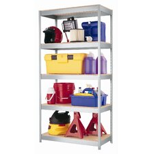 "1000 Series 72"" H Five Shelf Shelving Unit"