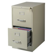 "<strong>CommClad</strong> 22"" Deep 2-Drawer Letter-Size Vertical File"